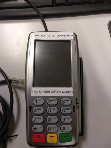 Verifone Vx820 PINpad with  RJ45 Coil Cable