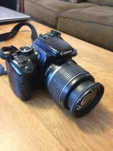 Canon Digital Rebel XTi DSLR with accessories