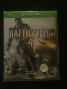 BRAND  NEW -FACTORY SEALED  -Battlefield  Xbox One