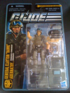 GI Joe Pursuit of Cobra General Clayton Hawk Abernathy