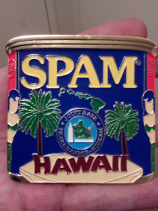 LARGE 70mm SPAM JOINT BASE PEARL HARBOUR HAWAII COIN.