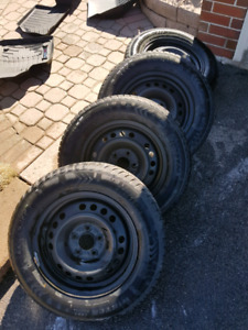 Winter Tires (including Rims), 205-65-15