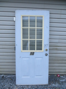 32 inch and 36 inch steel doors for sale