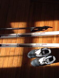 Kit complet de ski de fond une aubaine