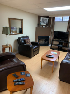 One bdrm Ap't..inclusive, furnished & equipped