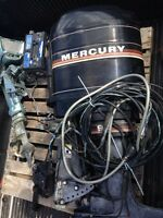Mercury outboard 90. Hp with controls