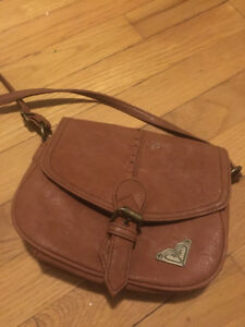Light brown Roxy over-the-shoulder purse $20 OBO