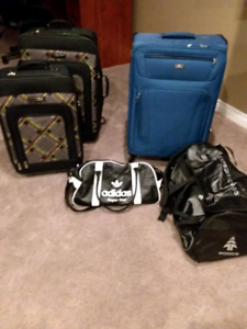 Suitcases and bags for sale