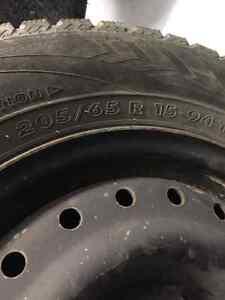Winter tires. Nordman. Pontiac Grand am.  Edmonton Edmonton Area image 5