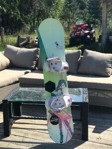 Planche à neige fille 120cm burton