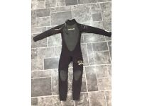 Child's sola fusion core full wetsuit - Small age 11/12/13