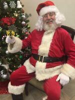 Santa For Hire (real beard!)