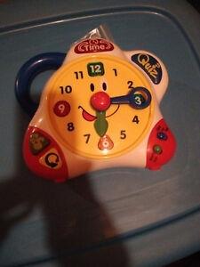 Horloge Apprentissage Français-anglais