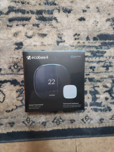 BNIB ECOBEE 4 SMART THERMOSTAT - 2 available