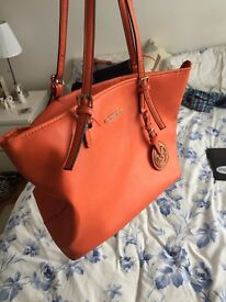 Michael Kors Bag - Orange - Broken Zip