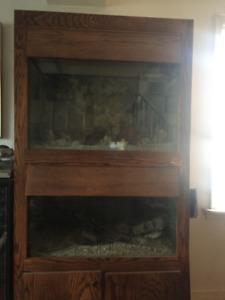 2  storey Aquarium for sell