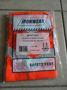 Brand new orange reflective safety vest one size fits all London Ontario image 1