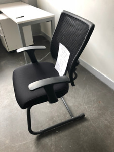 Office Chairs - Mid-Back Mesh - Sled Base