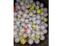 100 good golf balls