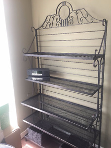 Baker's Rack - Kitchen and Display Shelving - Wrought Iron