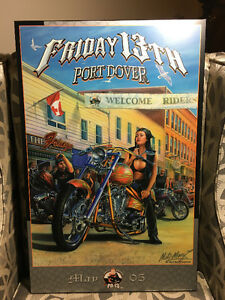 Friday the 13th, 2004 and 2005 autographed on Plak-It Windsor Region Ontario image 1