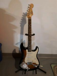 Guitare electrique fender squire