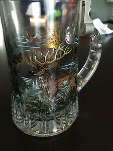 Oktoberfest Vintage BMF Beer Stein made in W. Germany w. Hat Lid Cambridge Kitchener Area image 6