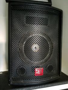 Soundtech PA speakers