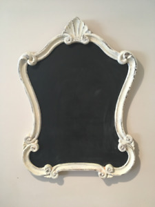 Ornate framed chalkboard