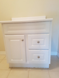 Cabinet - suitable for laundry area