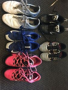 Soccer cleats - 5 pairs