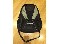Dell 17 inch Laptop rucksack in black.