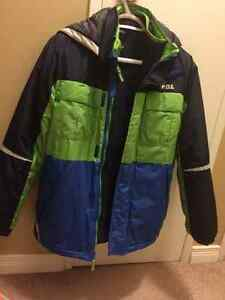 Boy's size 12 winter suit and leather jacket London Ontario image 2