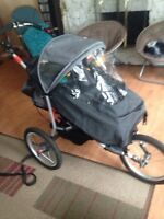 (REDUCED)Kuji jogging stroller