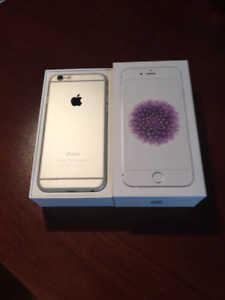 iPhone 6 - silver 64GB - Excellent Condition