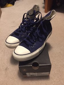 Converse Blue Used Men's Size 8