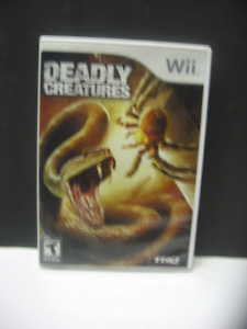 jeu wii deadly creatures