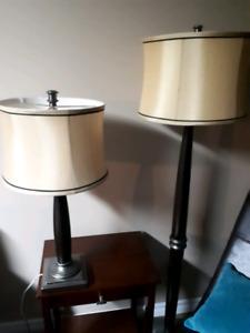 Set of three lamps