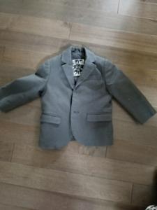 Toddler boy Grey h&m coat - 2yr old