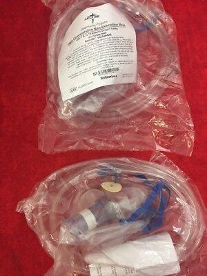 2 Medline High Concentration Non-rebreather Mask W7 Tubing Pediatric Hcs4642b