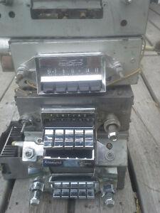 Old vintage car radios