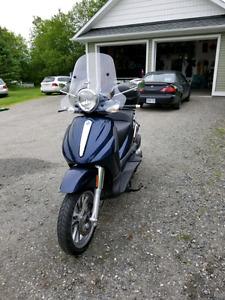 500 c.c Piaggio scooter made by Vespa