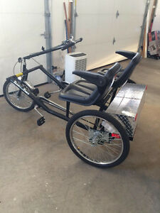 Tricycle built for 2!
