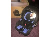 Recaro privia baby car seat immaculate