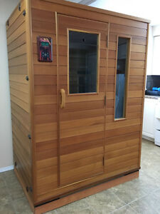Indoor portable home sauna