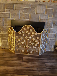 Protective Fireplace Screen