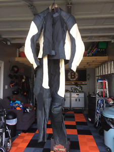 Womens Leather motorcycle suit - Jacket - Pants