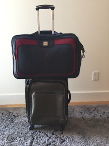 Carry on 4 wheel suitcase and carry on bag