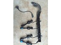 Toyota mr2 n/a Rev 3+ Oem ht leads mint condition