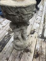Garden statues and pots